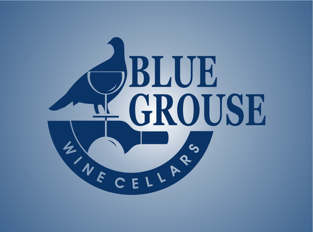 Logo Design by Ngepet_art - Entry No. 204 in the Logo Design Contest Creative Logo Design for Blue Grouse Wine Cellars.