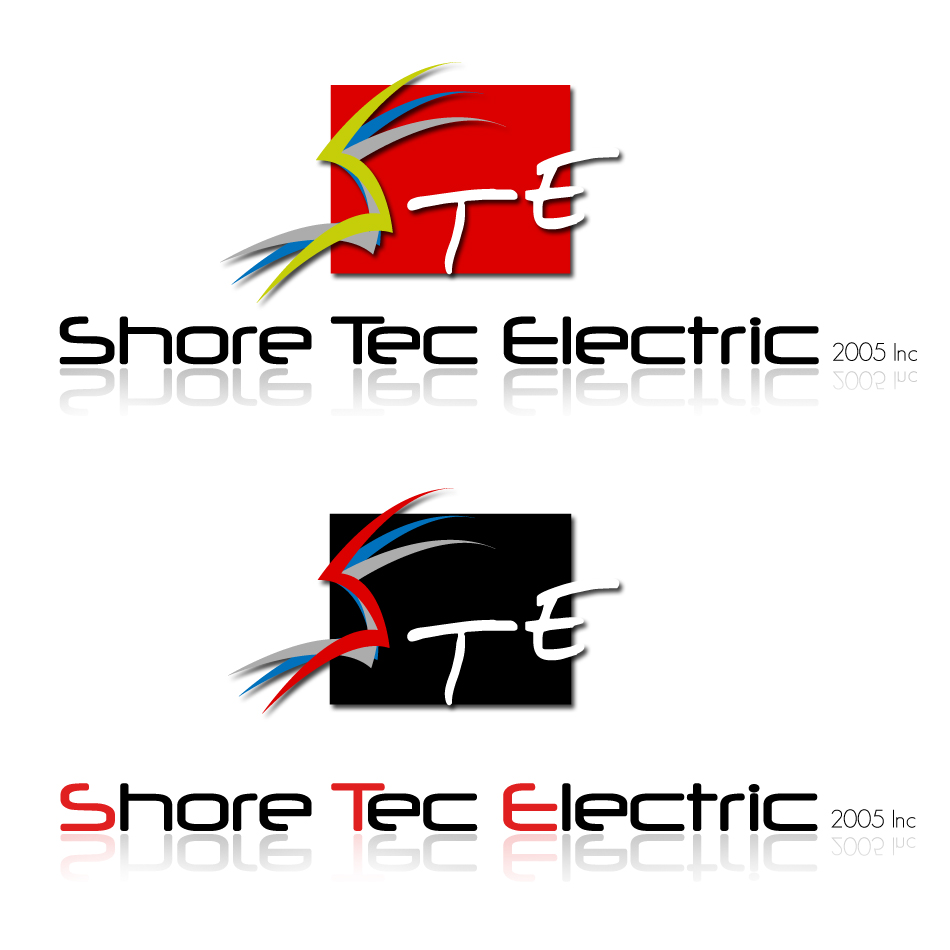 Logo Design by dada45 - Entry No. 168 in the Logo Design Contest Shore Tec Electric 2005 Inc.