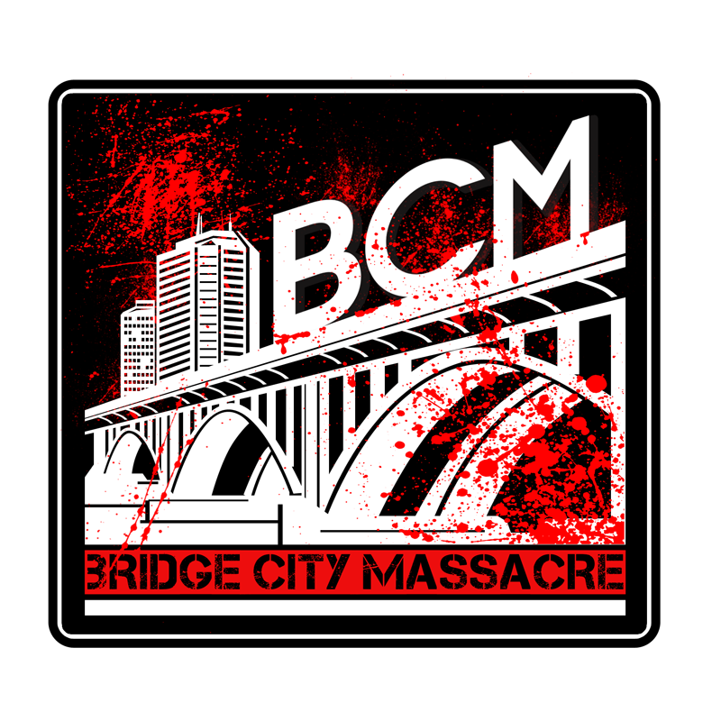 Logo Design by Private User - Entry No. 35 in the Logo Design Contest New Logo Design for Bridge City Massacre.