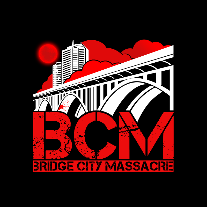 Logo Design by Private User - Entry No. 36 in the Logo Design Contest New Logo Design for Bridge City Massacre.