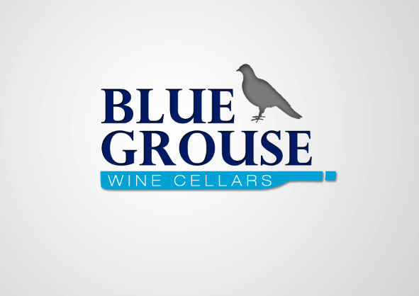 Logo Design by ani.w - Entry No. 207 in the Logo Design Contest Creative Logo Design for Blue Grouse Wine Cellars.