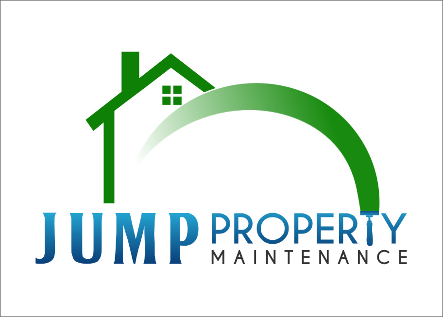 Logo Design by RasYa Muhammad Athaya - Entry No. 40 in the Logo Design Contest Creative Logo Design for Jump Property Maintenance.