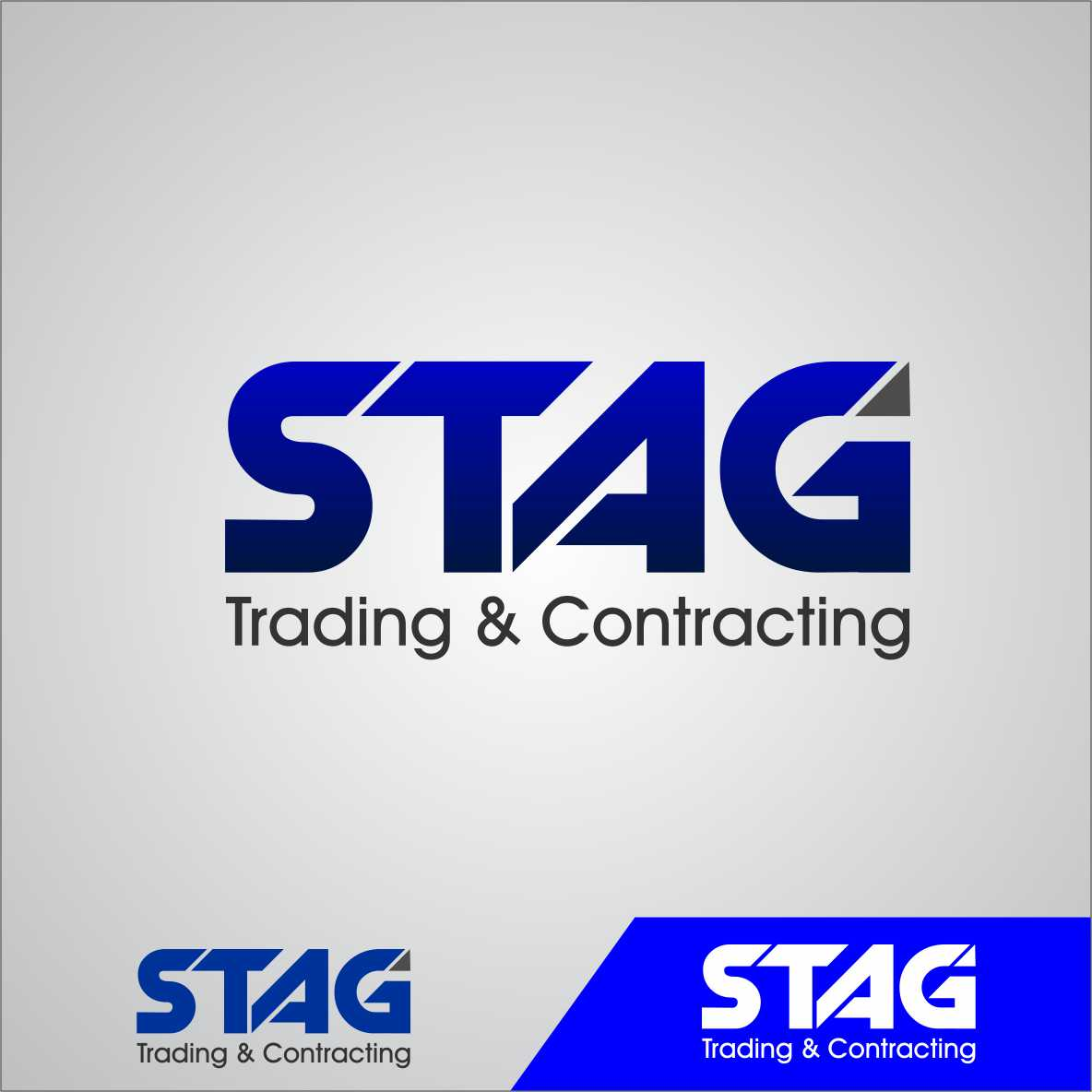 Logo Design by arteo_design - Entry No. 56 in the Logo Design Contest Captivating Logo Design for STAG Trading & Contracting.