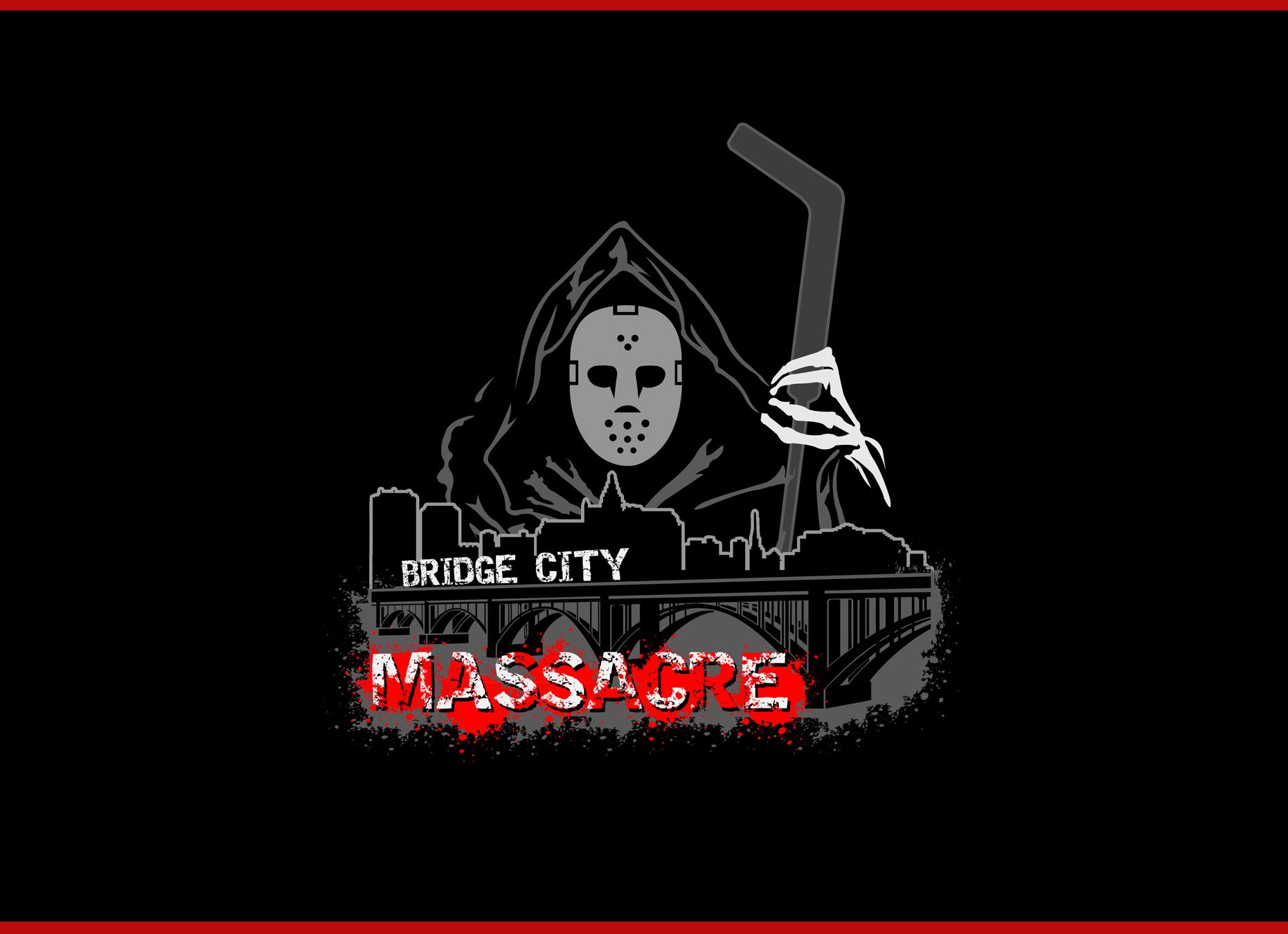 Logo Design by omARTist - Entry No. 37 in the Logo Design Contest New Logo Design for Bridge City Massacre.