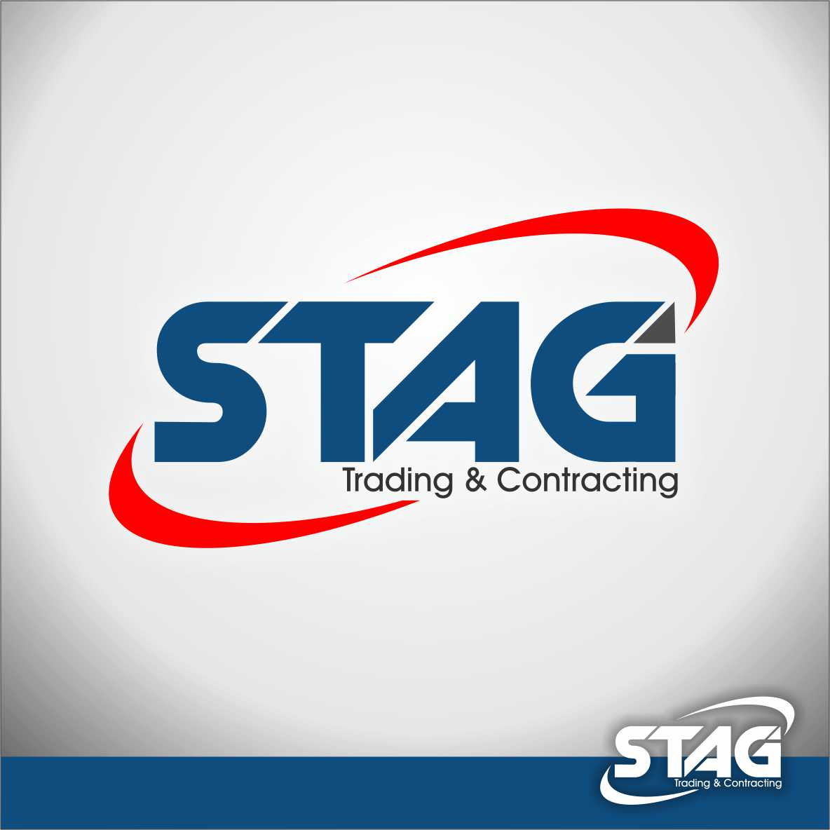Logo Design by arteo_design - Entry No. 57 in the Logo Design Contest Captivating Logo Design for STAG Trading & Contracting.