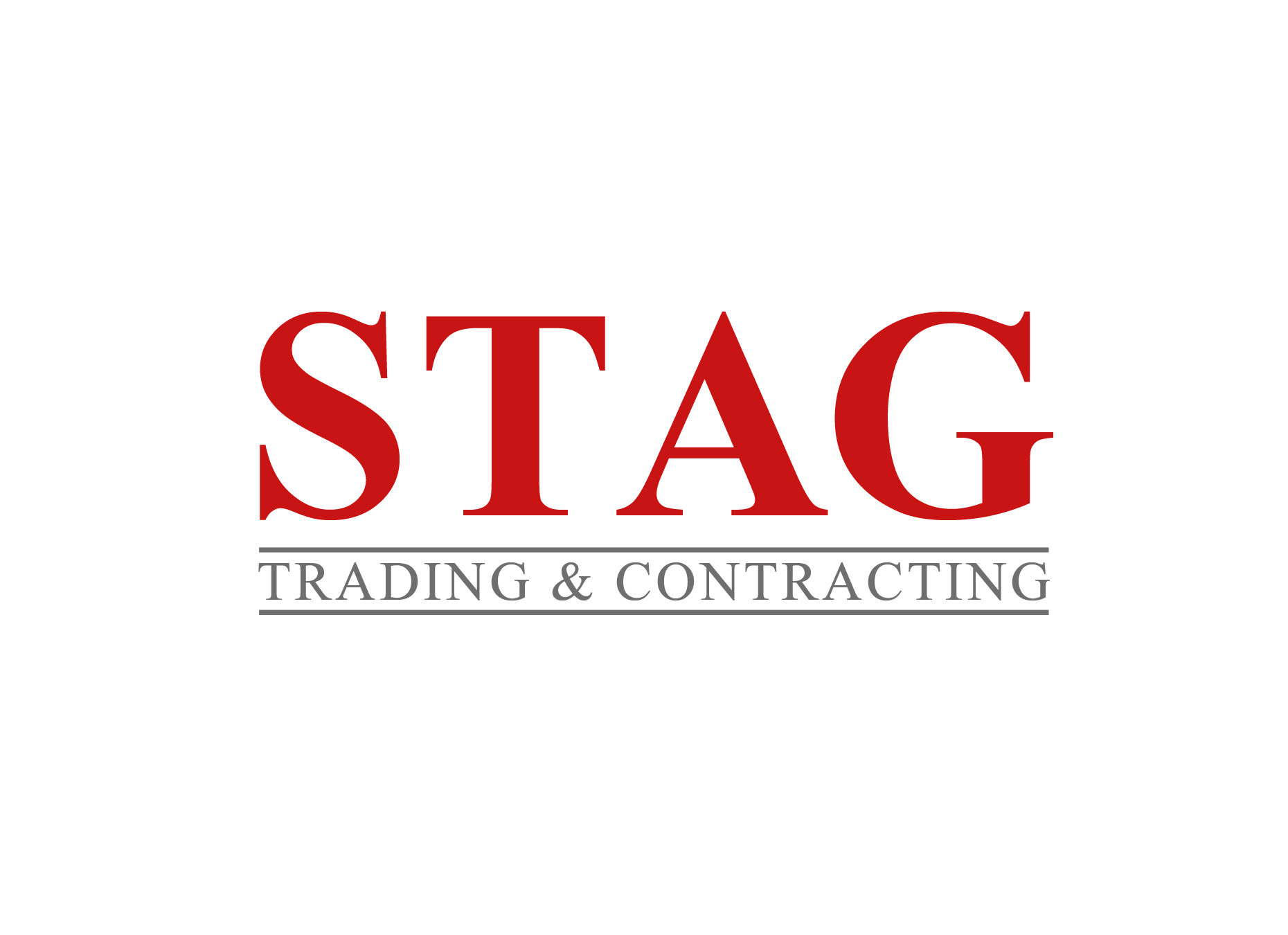 Logo Design by omARTist - Entry No. 59 in the Logo Design Contest Captivating Logo Design for STAG Trading & Contracting.