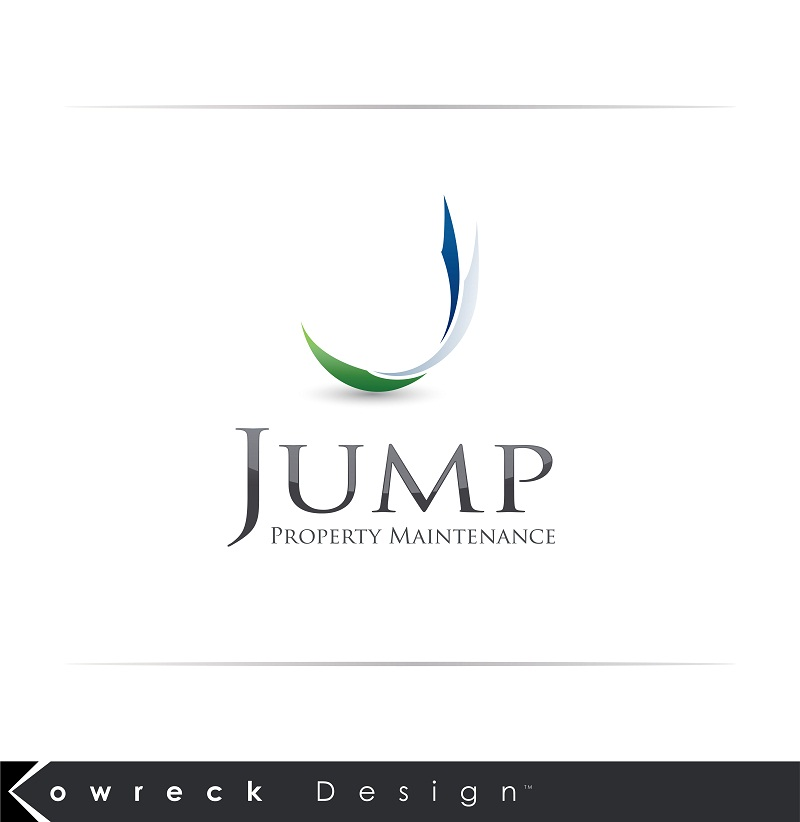 Logo Design by kowreck - Entry No. 47 in the Logo Design Contest Creative Logo Design for Jump Property Maintenance.