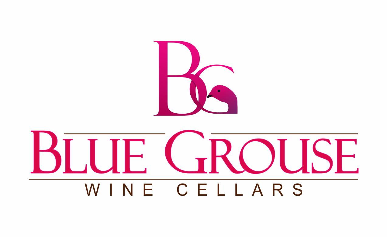 Logo Design by Gagan Kapoor - Entry No. 215 in the Logo Design Contest Creative Logo Design for Blue Grouse Wine Cellars.