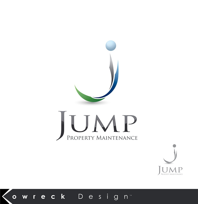 Logo Design by kowreck - Entry No. 48 in the Logo Design Contest Creative Logo Design for Jump Property Maintenance.