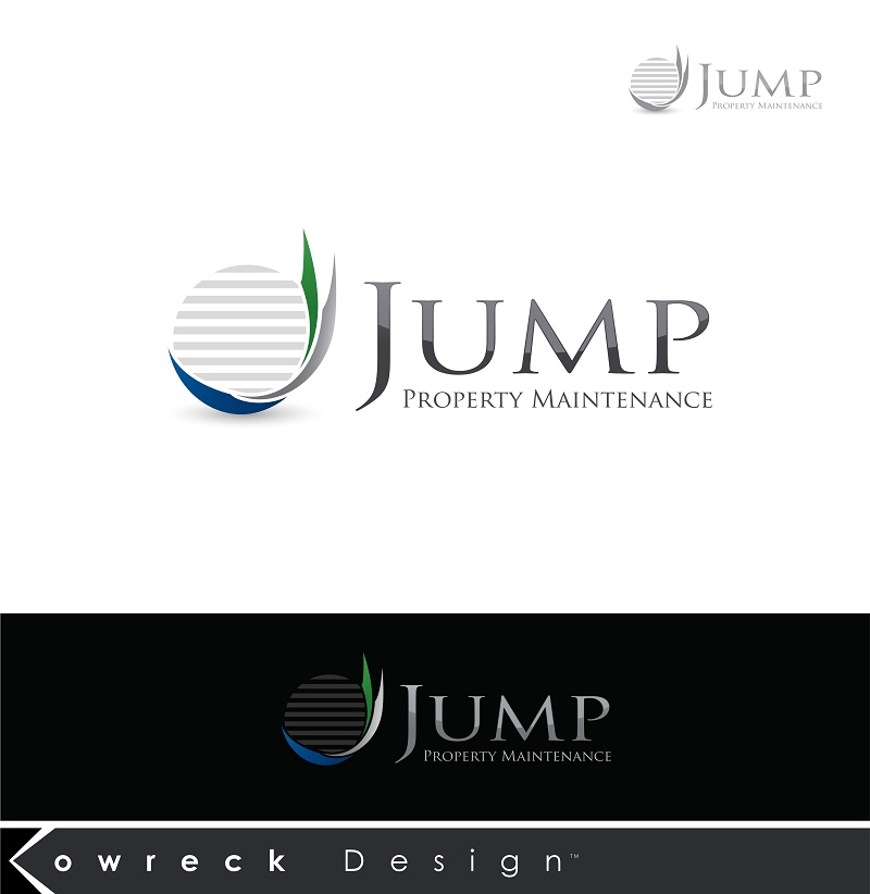 Logo Design by kowreck - Entry No. 49 in the Logo Design Contest Creative Logo Design for Jump Property Maintenance.