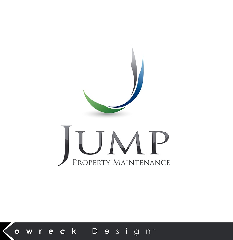 Logo Design by kowreck - Entry No. 50 in the Logo Design Contest Creative Logo Design for Jump Property Maintenance.