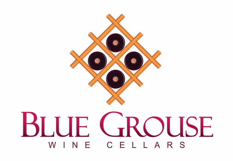 Logo Design by Gagan Kapoor - Entry No. 216 in the Logo Design Contest Creative Logo Design for Blue Grouse Wine Cellars.