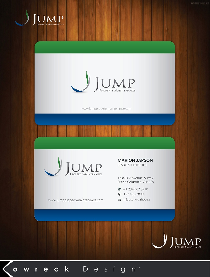 Logo Design by kowreck - Entry No. 51 in the Logo Design Contest Creative Logo Design for Jump Property Maintenance.
