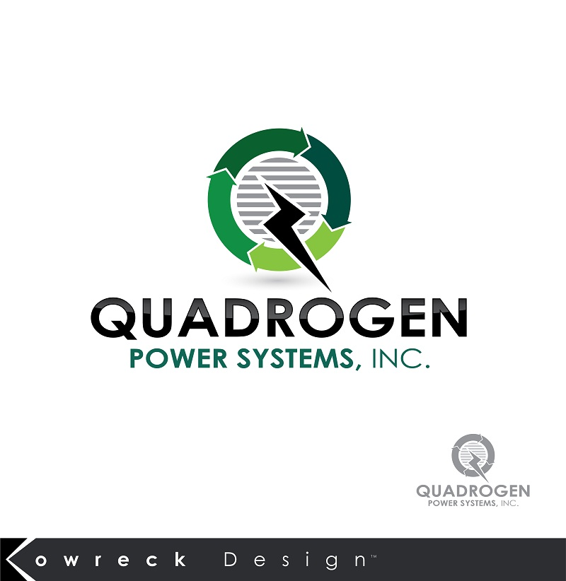 Logo Design by kowreck - Entry No. 1 in the Logo Design Contest New Logo Design for Quadrogen Power Systems, Inc.