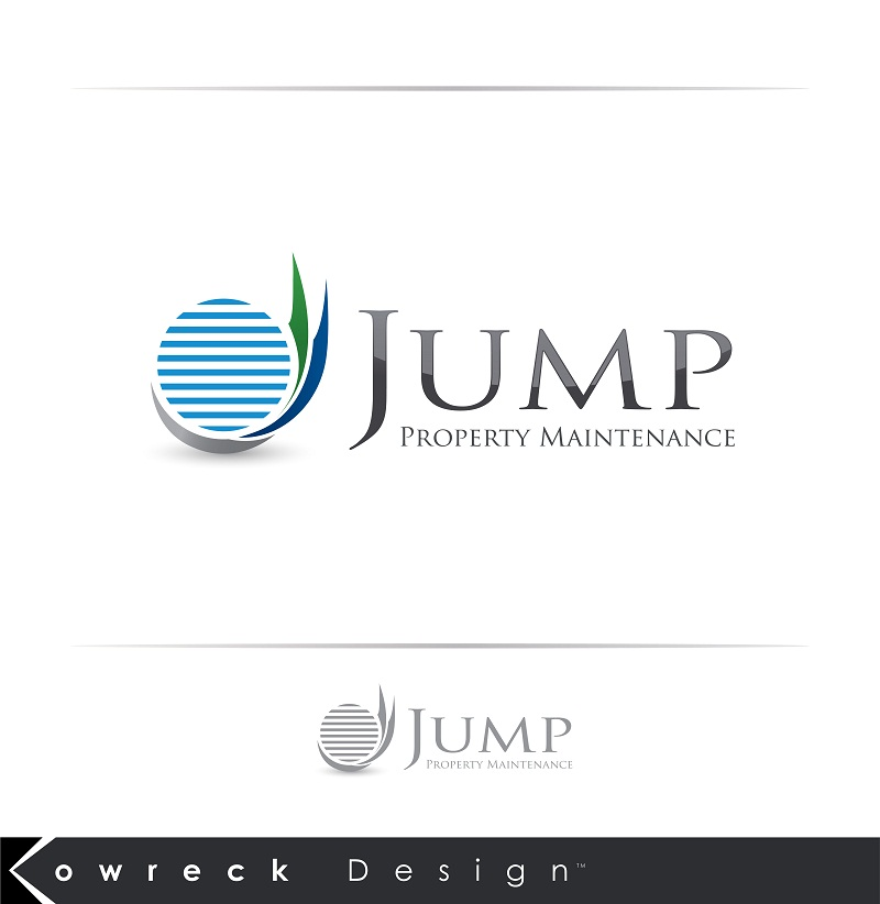 Logo Design by kowreck - Entry No. 53 in the Logo Design Contest Creative Logo Design for Jump Property Maintenance.