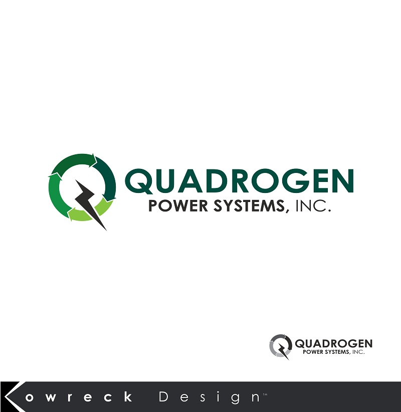 Logo Design by kowreck - Entry No. 2 in the Logo Design Contest New Logo Design for Quadrogen Power Systems, Inc.