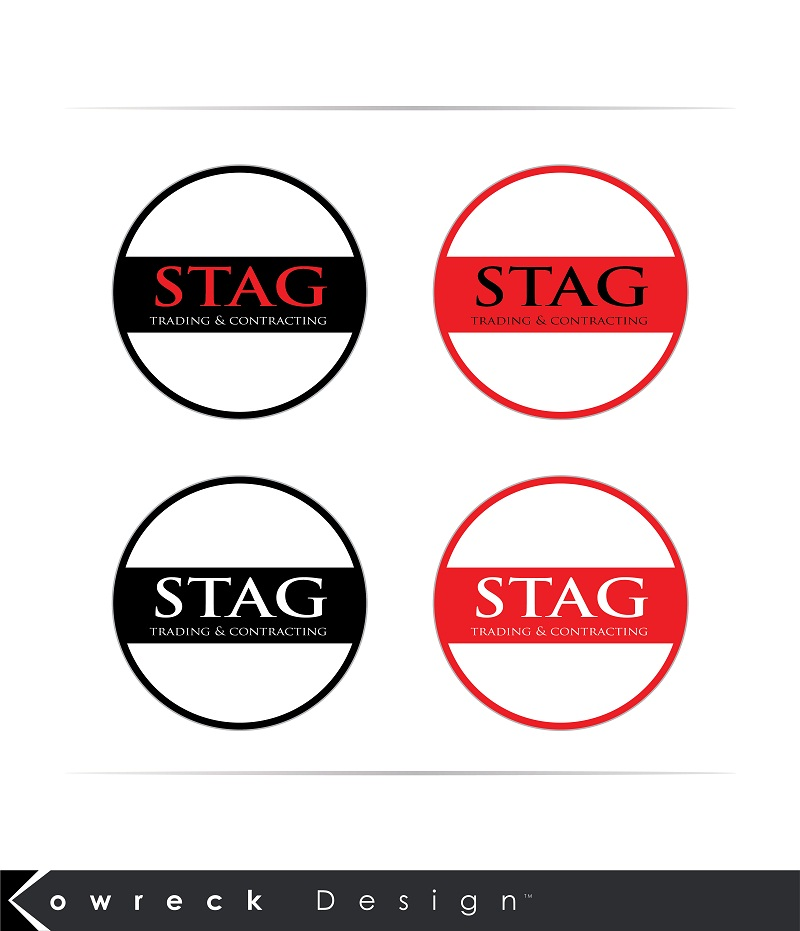 Logo Design by kowreck - Entry No. 61 in the Logo Design Contest Captivating Logo Design for STAG Trading & Contracting.