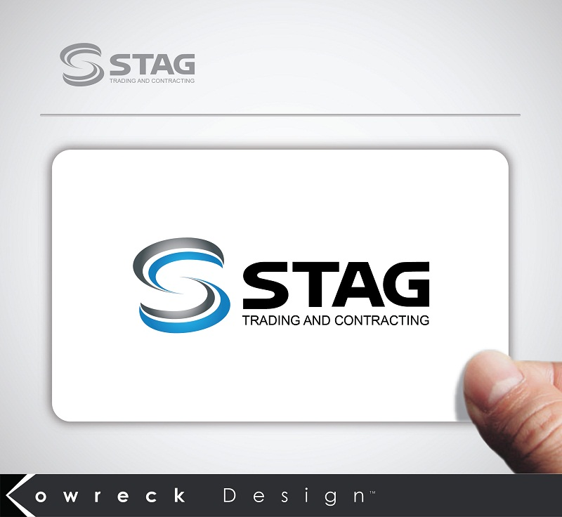 Logo Design by kowreck - Entry No. 63 in the Logo Design Contest Captivating Logo Design for STAG Trading & Contracting.