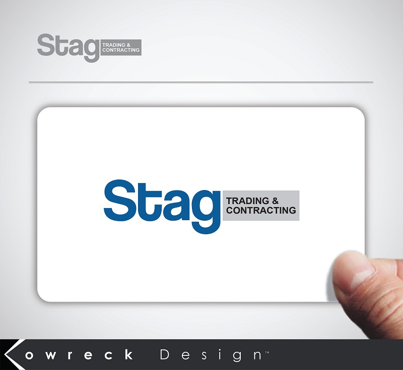 Logo Design by kowreck - Entry No. 64 in the Logo Design Contest Captivating Logo Design for STAG Trading & Contracting.