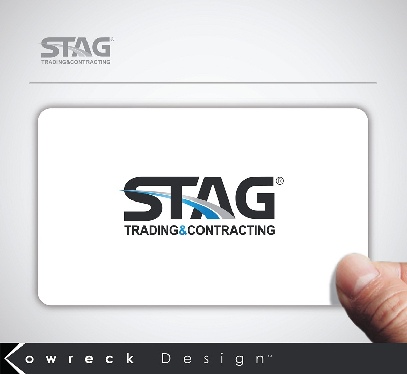 Logo Design by kowreck - Entry No. 65 in the Logo Design Contest Captivating Logo Design for STAG Trading & Contracting.