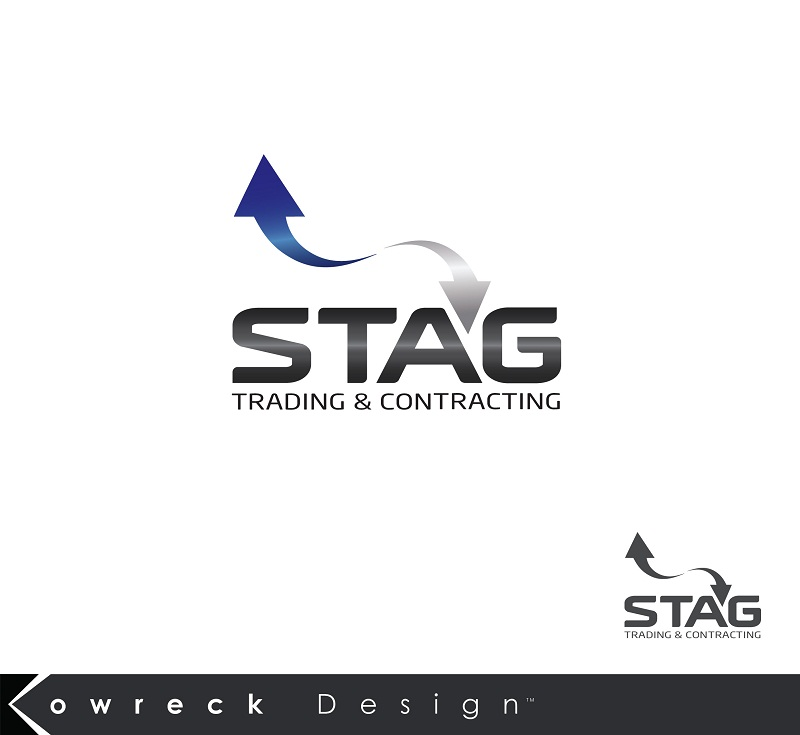Logo Design by kowreck - Entry No. 66 in the Logo Design Contest Captivating Logo Design for STAG Trading & Contracting.
