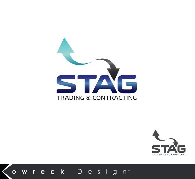 Logo Design by kowreck - Entry No. 67 in the Logo Design Contest Captivating Logo Design for STAG Trading & Contracting.
