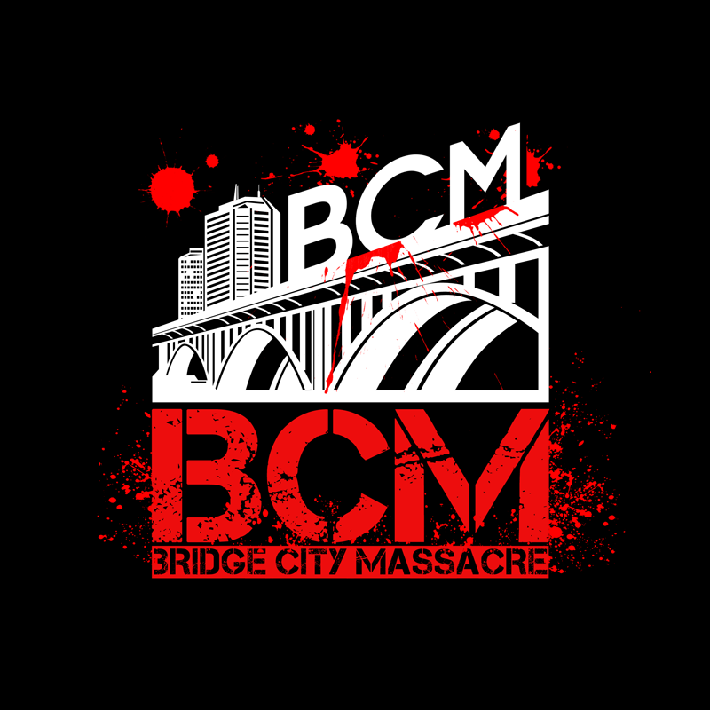 Logo Design by Private User - Entry No. 40 in the Logo Design Contest New Logo Design for Bridge City Massacre.