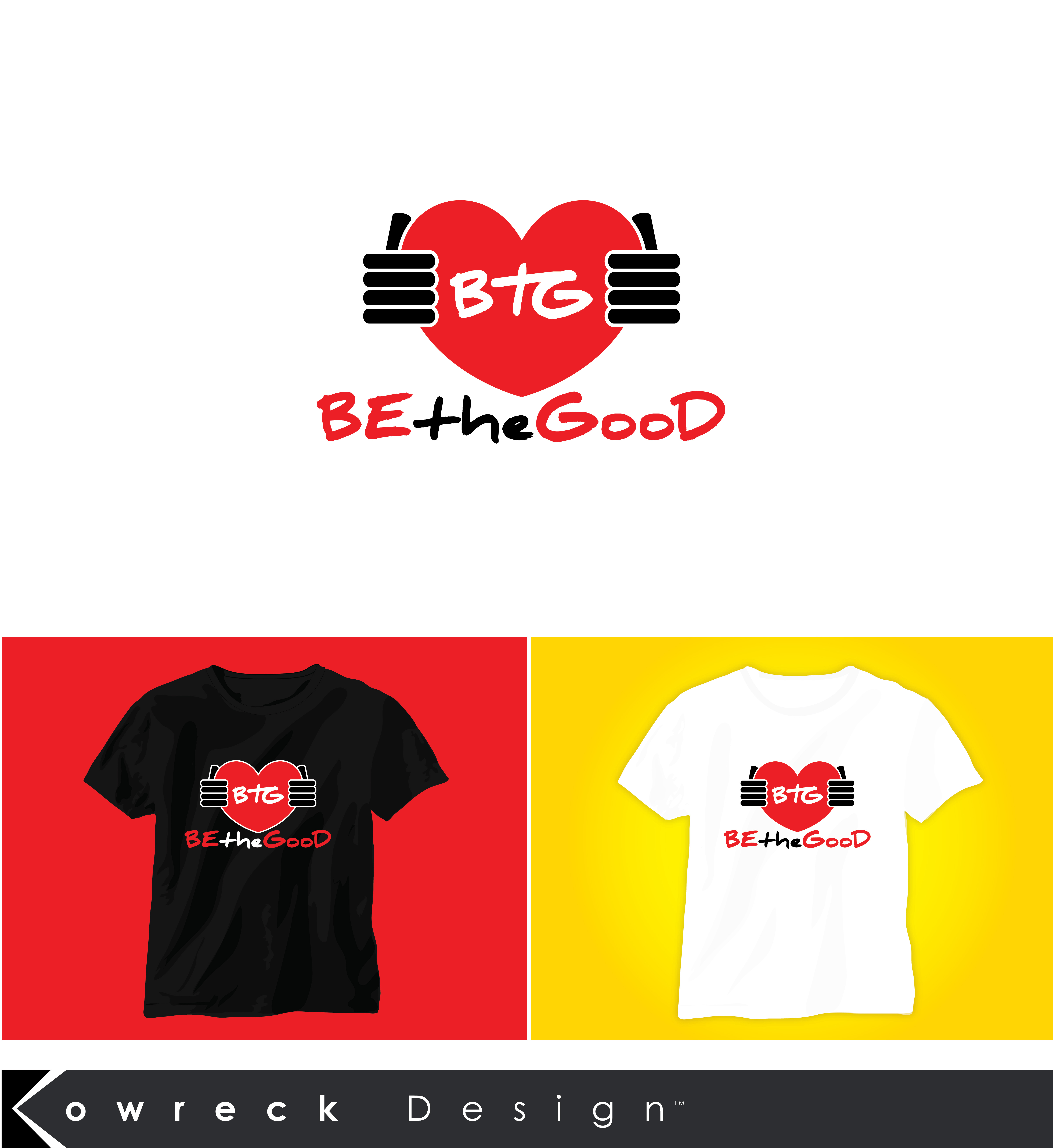 Logo Design by kowreck - Entry No. 86 in the Logo Design Contest New Logo Design for Be the Good.