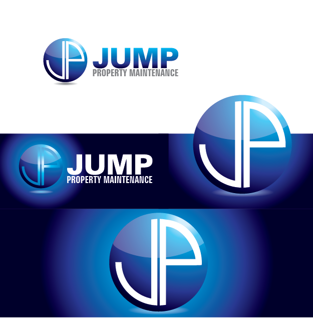 Logo Design by Private User - Entry No. 58 in the Logo Design Contest Creative Logo Design for Jump Property Maintenance.