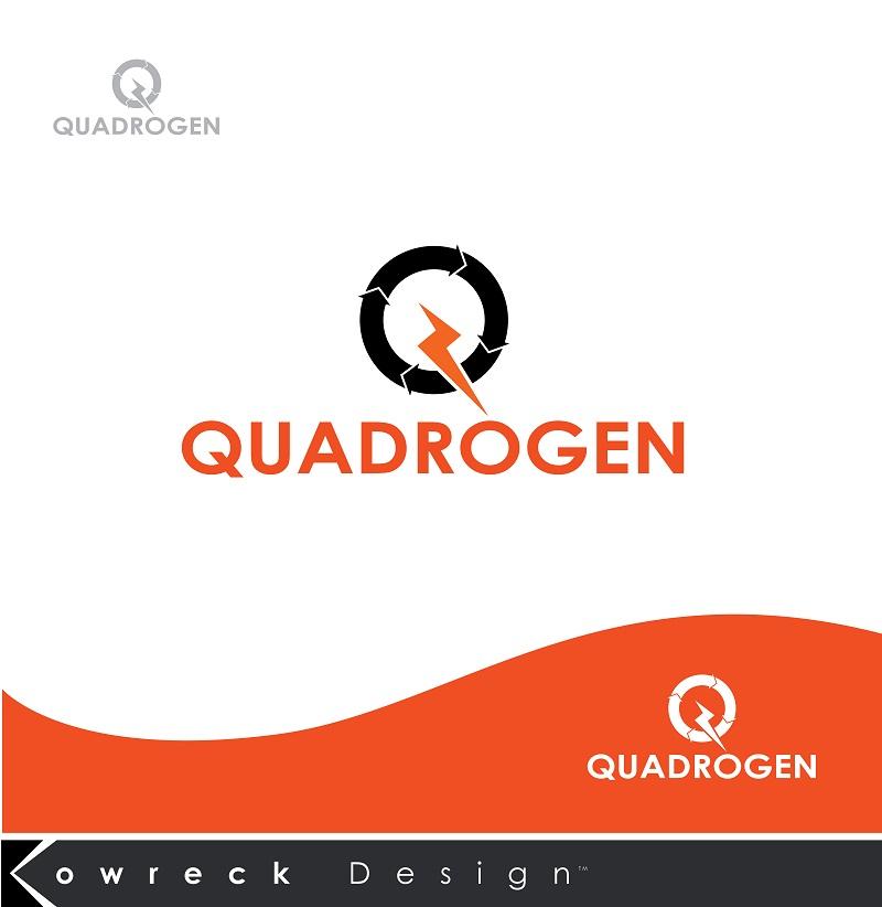 Logo Design by kowreck - Entry No. 4 in the Logo Design Contest New Logo Design for Quadrogen Power Systems, Inc.