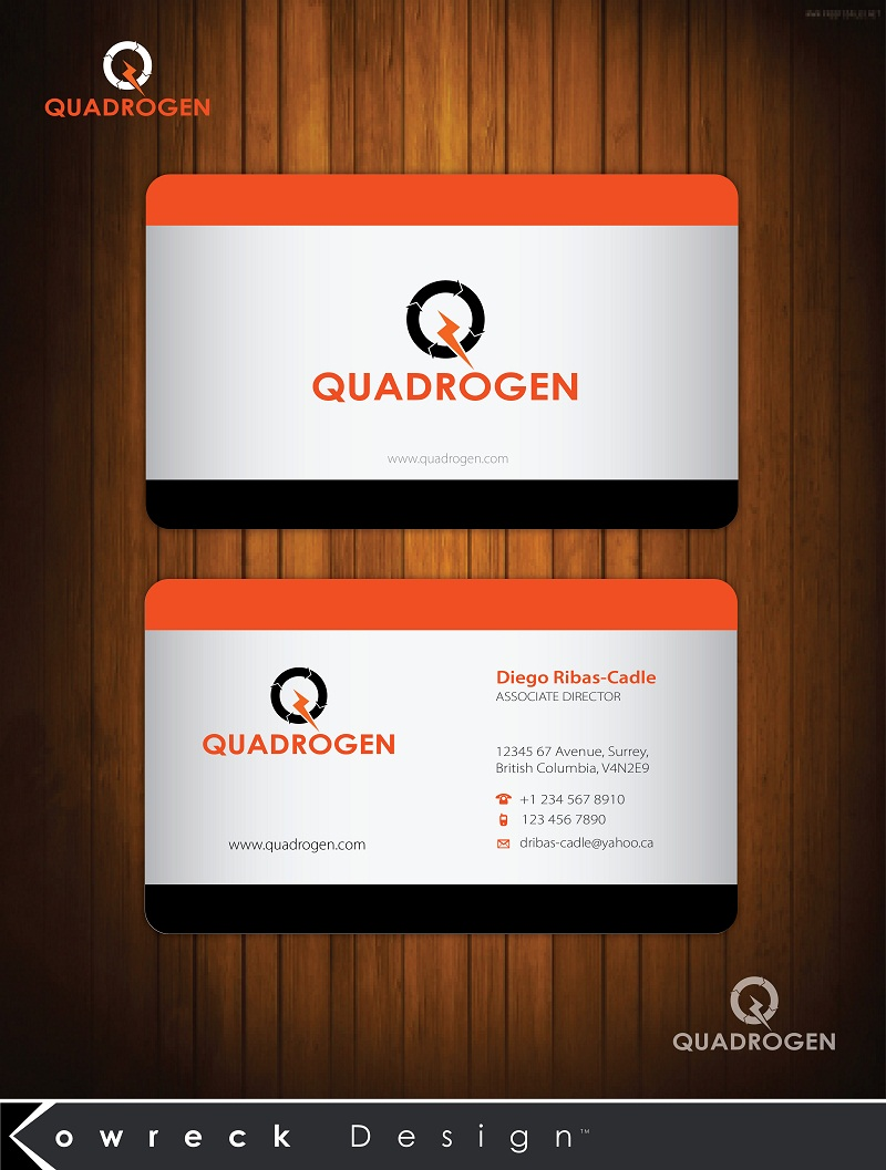 Logo Design by kowreck - Entry No. 5 in the Logo Design Contest New Logo Design for Quadrogen Power Systems, Inc.