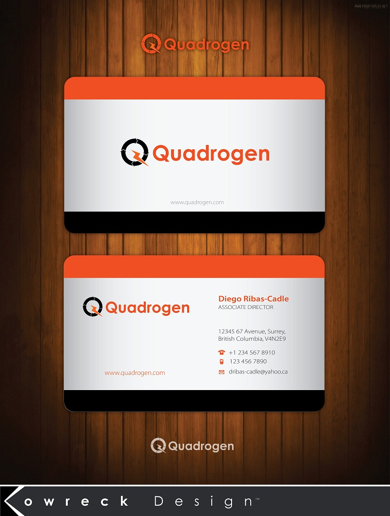 Logo Design by kowreck - Entry No. 6 in the Logo Design Contest New Logo Design for Quadrogen Power Systems, Inc.