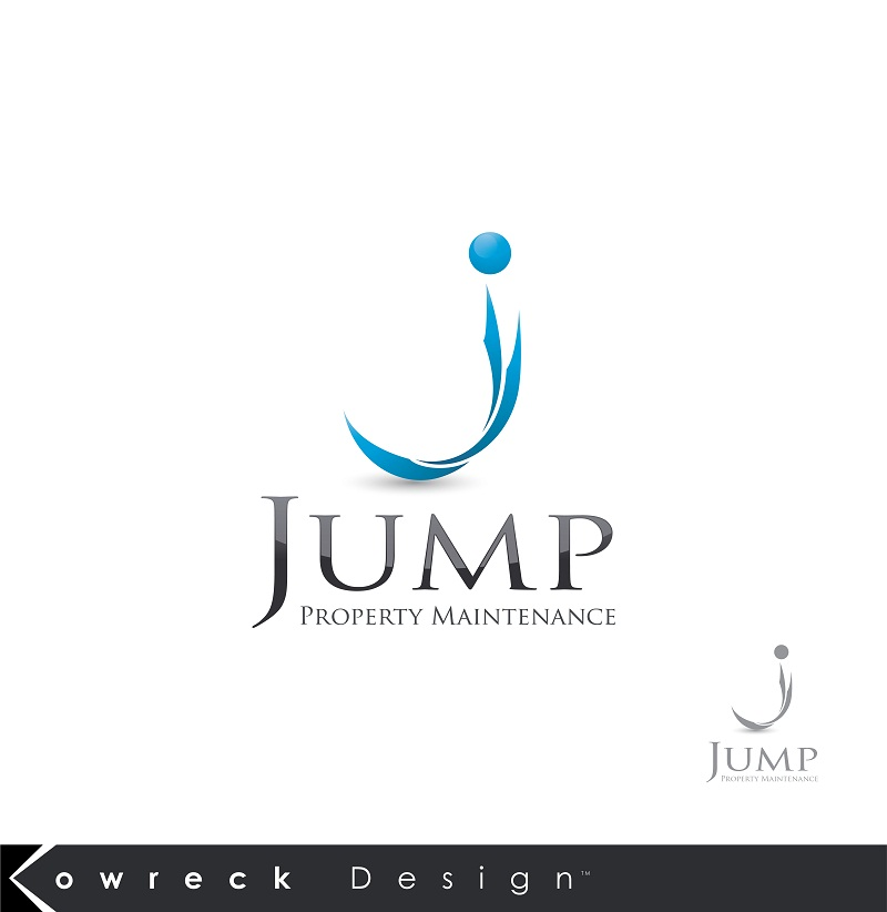 Logo Design by kowreck - Entry No. 66 in the Logo Design Contest Creative Logo Design for Jump Property Maintenance.
