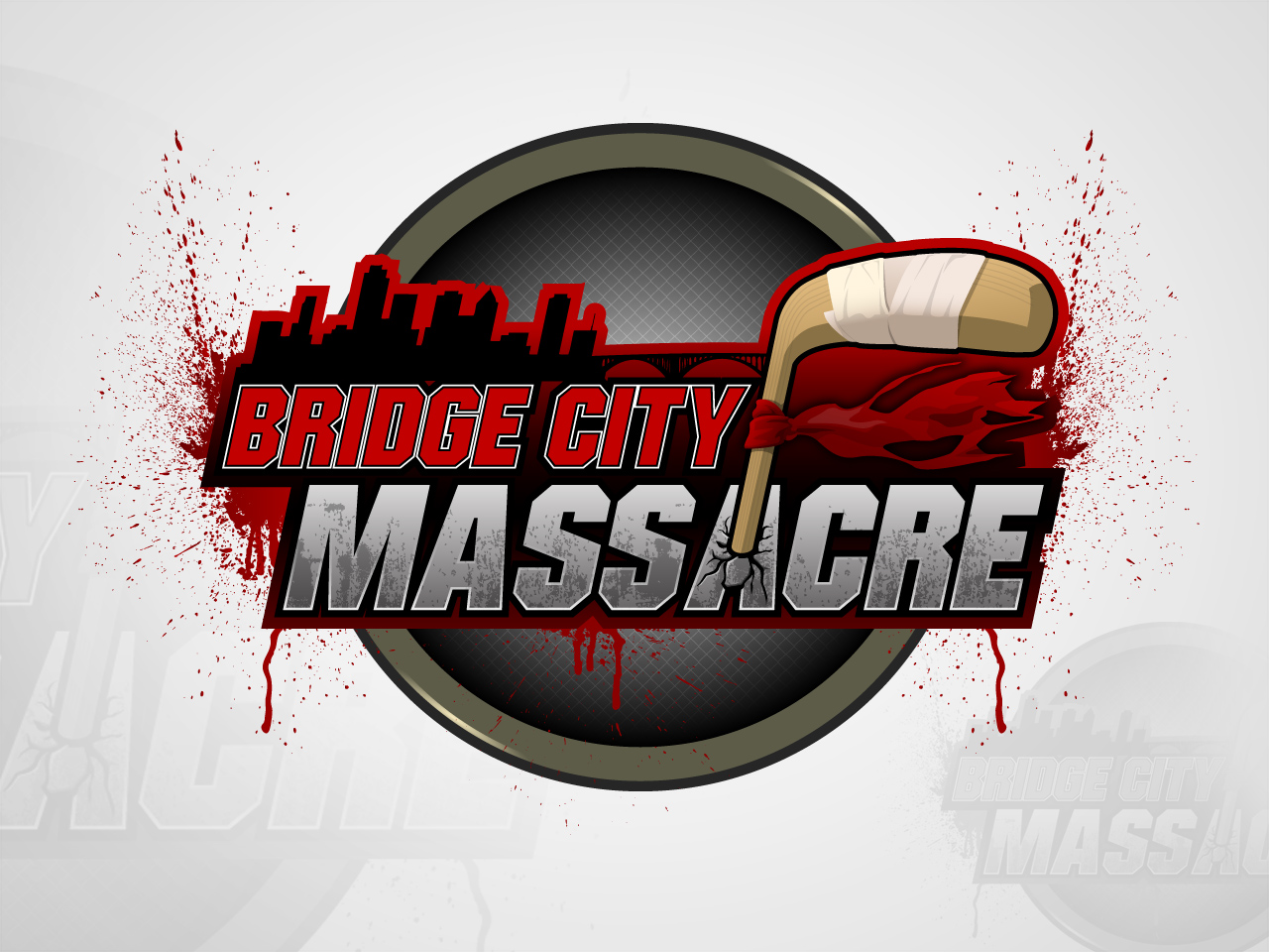 Logo Design by jpbituin - Entry No. 44 in the Logo Design Contest New Logo Design for Bridge City Massacre.