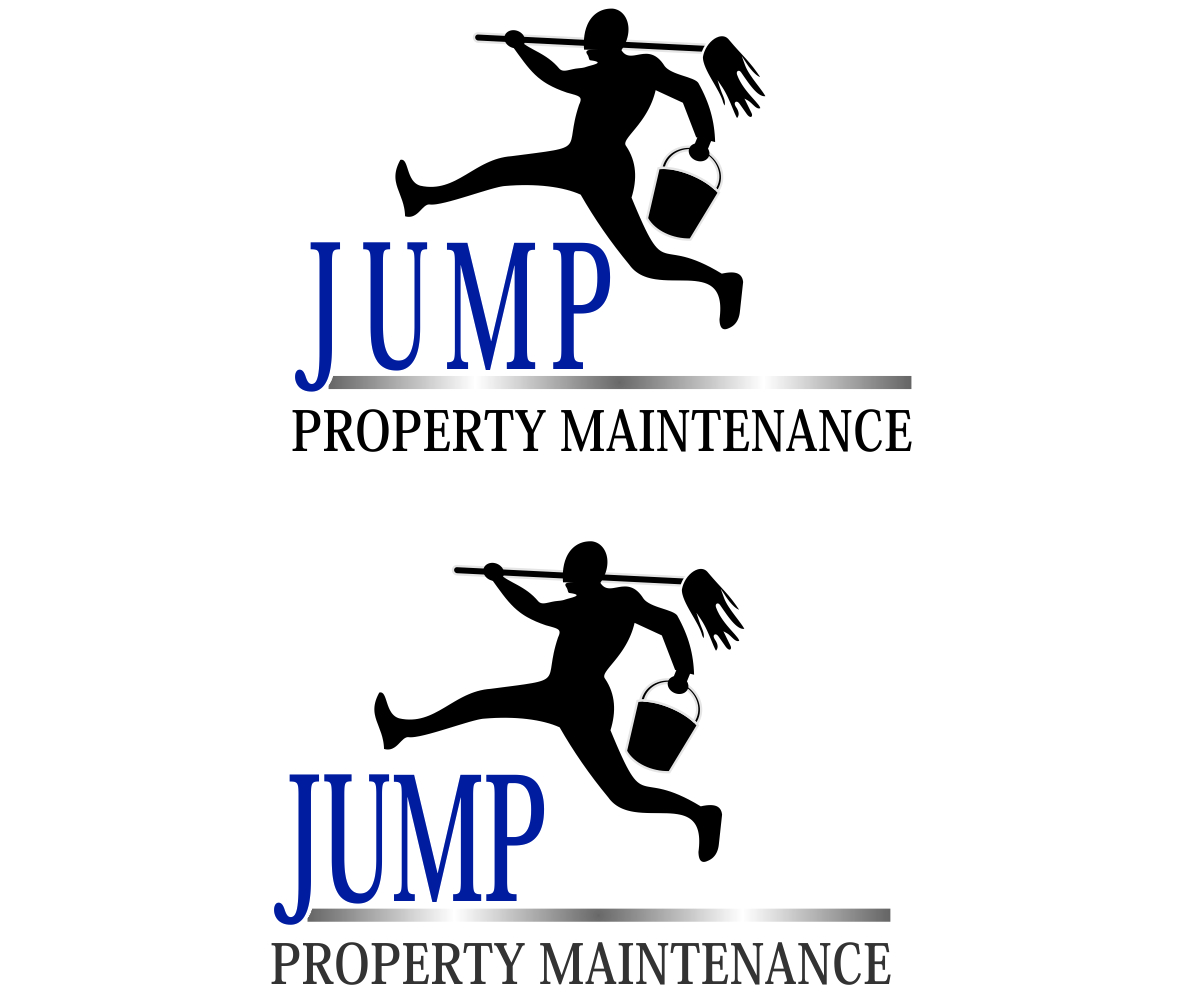 Logo Design by franz - Entry No. 67 in the Logo Design Contest Creative Logo Design for Jump Property Maintenance.