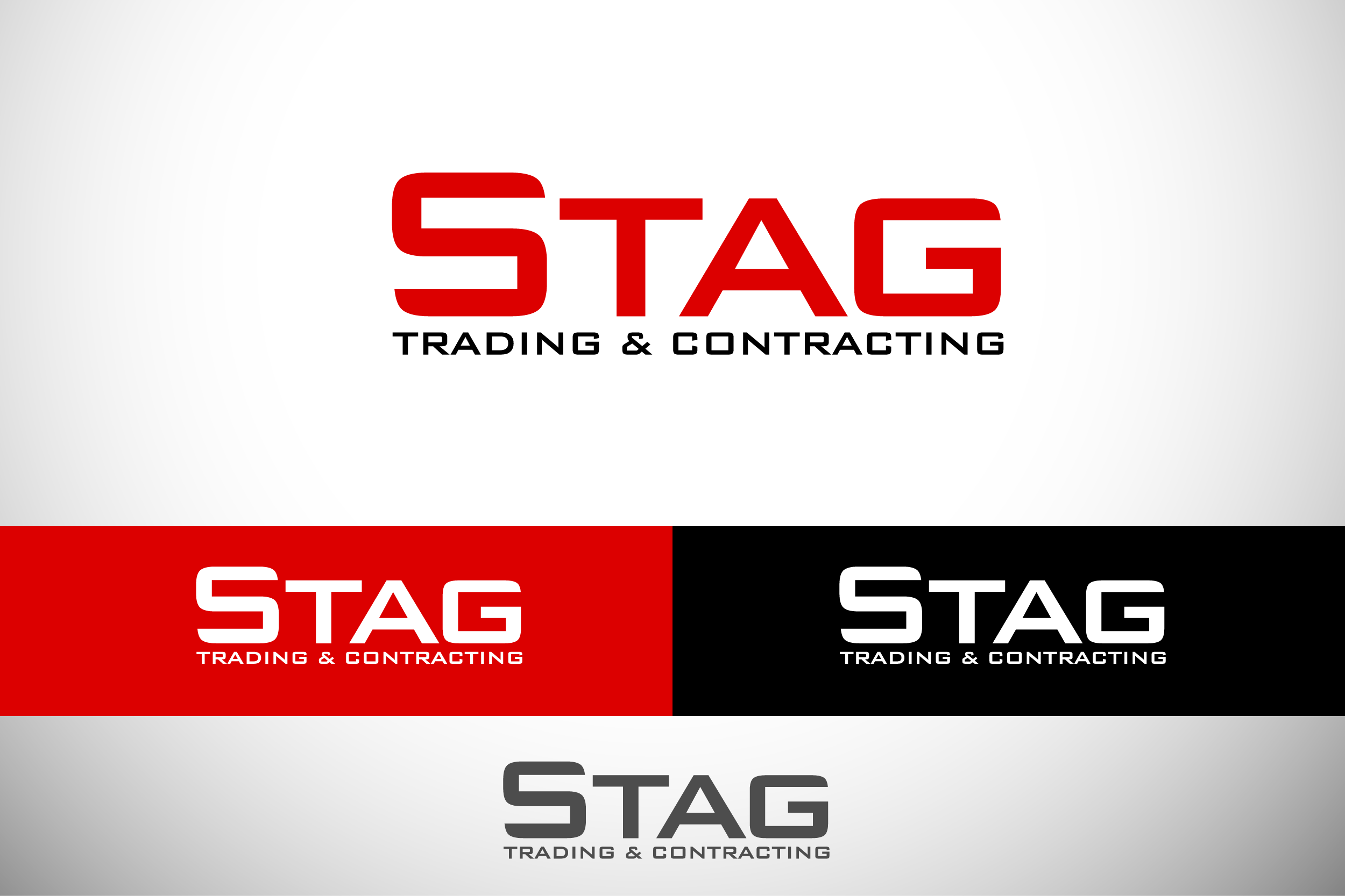 Logo Design by Private User - Entry No. 69 in the Logo Design Contest Captivating Logo Design for STAG Trading & Contracting.