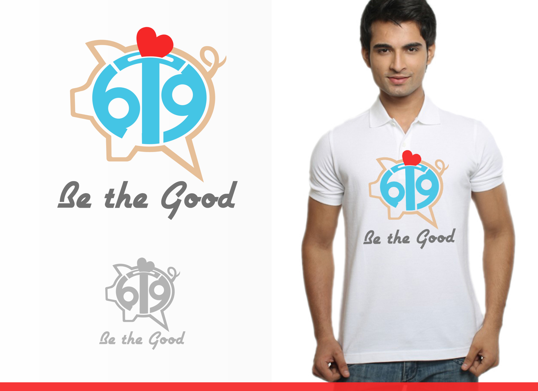 Logo Design by omARTist - Entry No. 102 in the Logo Design Contest New Logo Design for Be the Good.