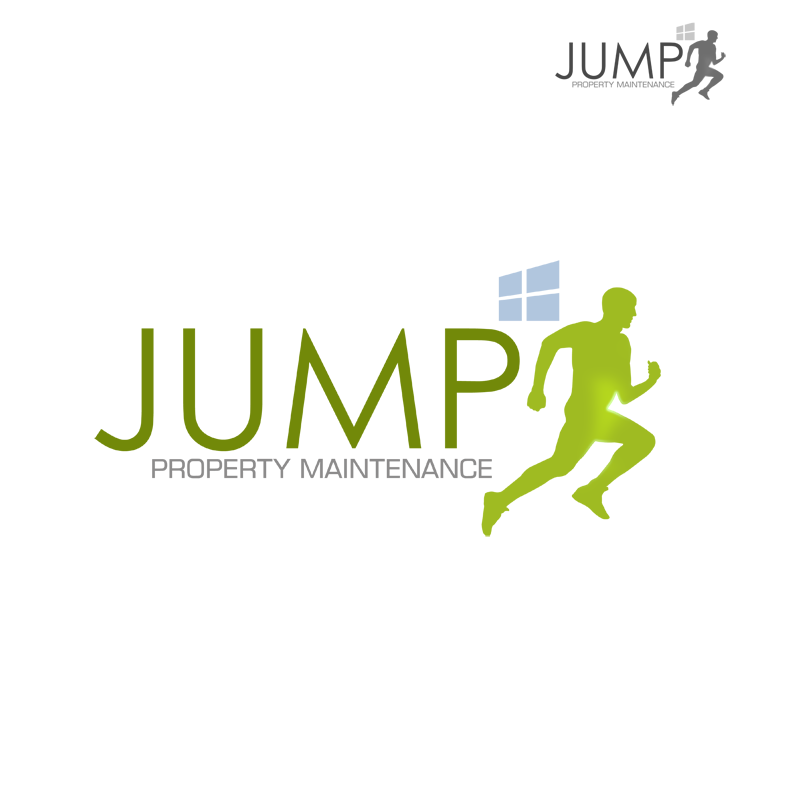 Logo Design by Robert Turla - Entry No. 68 in the Logo Design Contest Creative Logo Design for Jump Property Maintenance.
