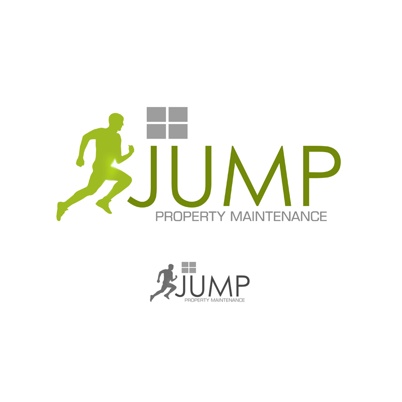 Logo Design by Private User - Entry No. 69 in the Logo Design Contest Creative Logo Design for Jump Property Maintenance.