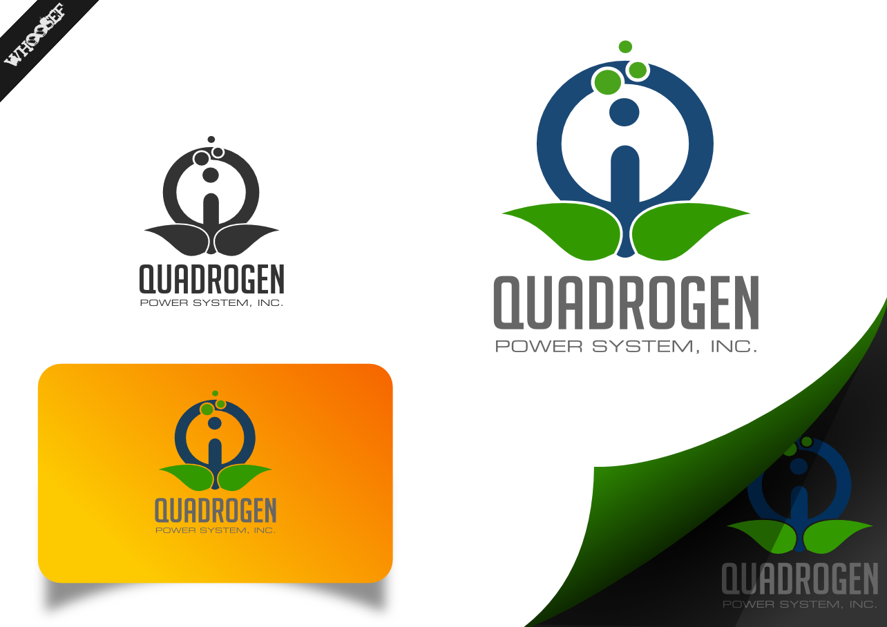 Logo Design by whoosef - Entry No. 13 in the Logo Design Contest New Logo Design for Quadrogen Power Systems, Inc.