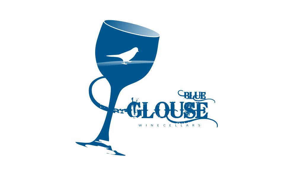 Logo Design by Tenstar Design - Entry No. 223 in the Logo Design Contest Creative Logo Design for Blue Grouse Wine Cellars.