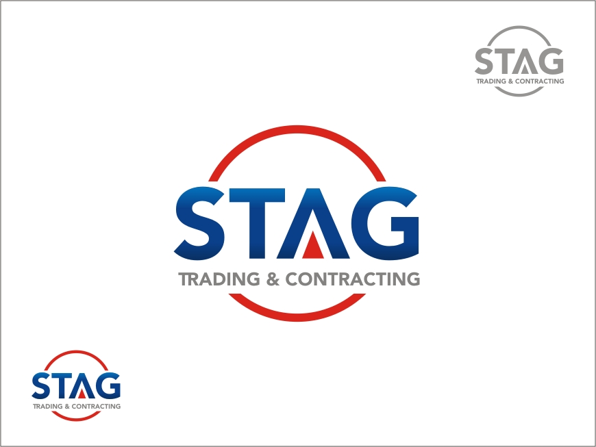 Logo Design by RED HORSE design studio - Entry No. 70 in the Logo Design Contest Captivating Logo Design for STAG Trading & Contracting.