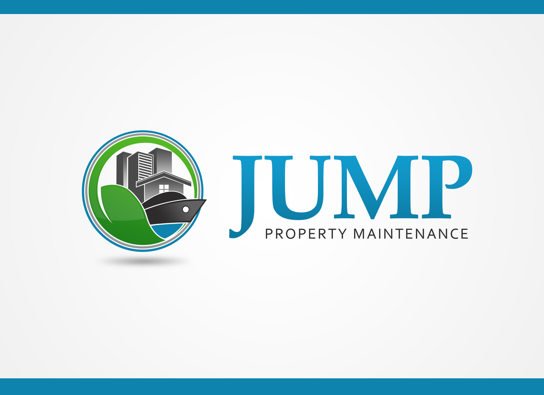 Logo Design by omARTist - Entry No. 71 in the Logo Design Contest Creative Logo Design for Jump Property Maintenance.