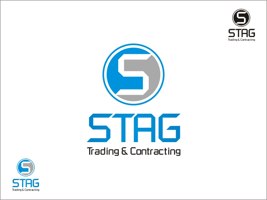 Logo Design by RED HORSE design studio - Entry No. 71 in the Logo Design Contest Captivating Logo Design for STAG Trading & Contracting.