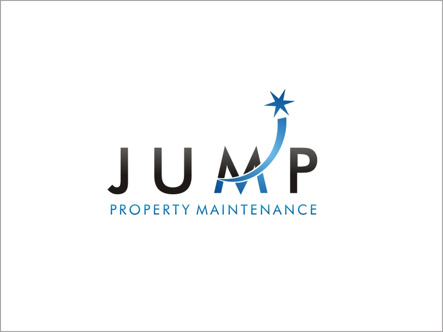 Logo Design by RED HORSE design studio - Entry No. 72 in the Logo Design Contest Creative Logo Design for Jump Property Maintenance.