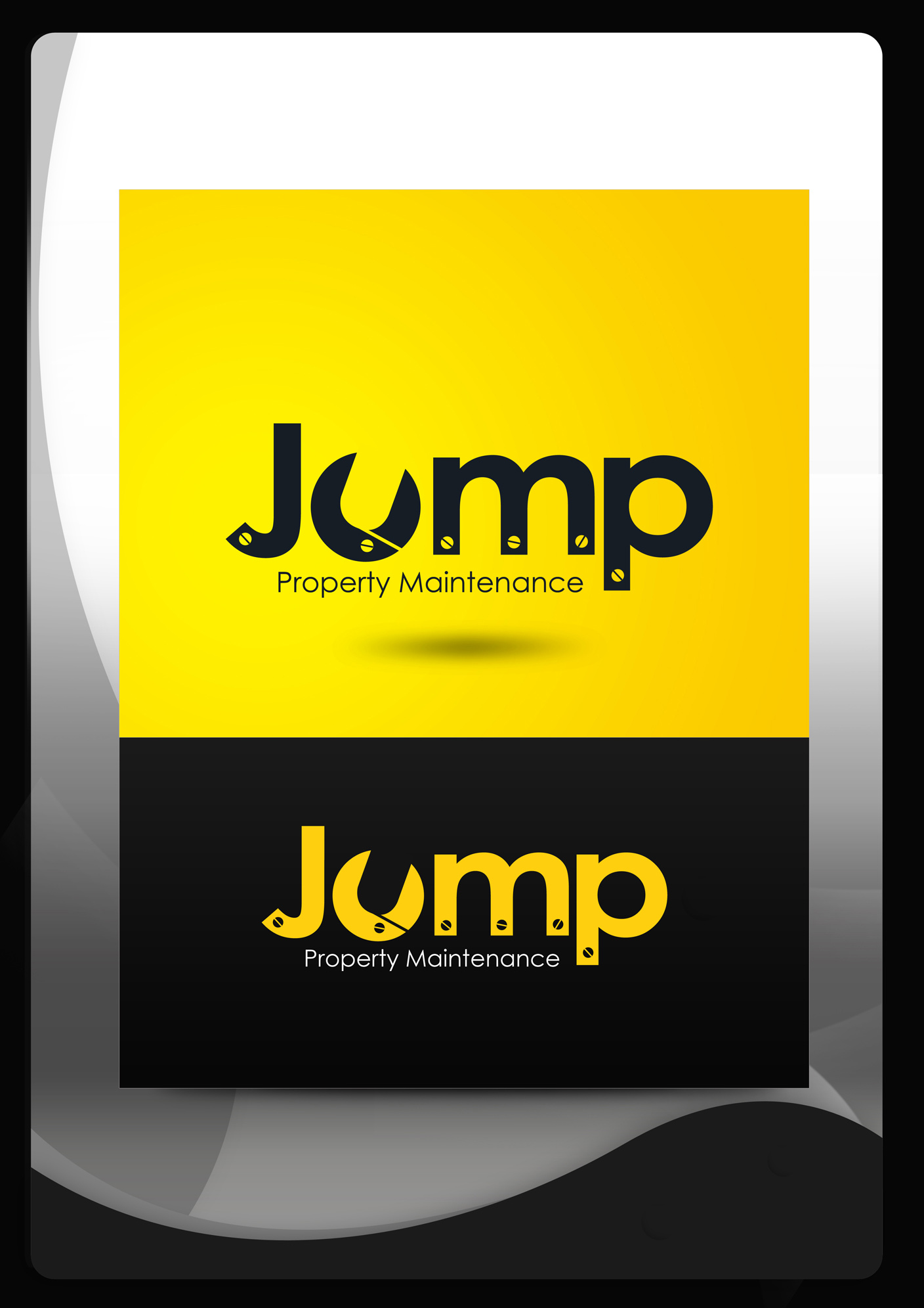Logo Design by Mark Anthony Moreto Jordan - Entry No. 73 in the Logo Design Contest Creative Logo Design for Jump Property Maintenance.