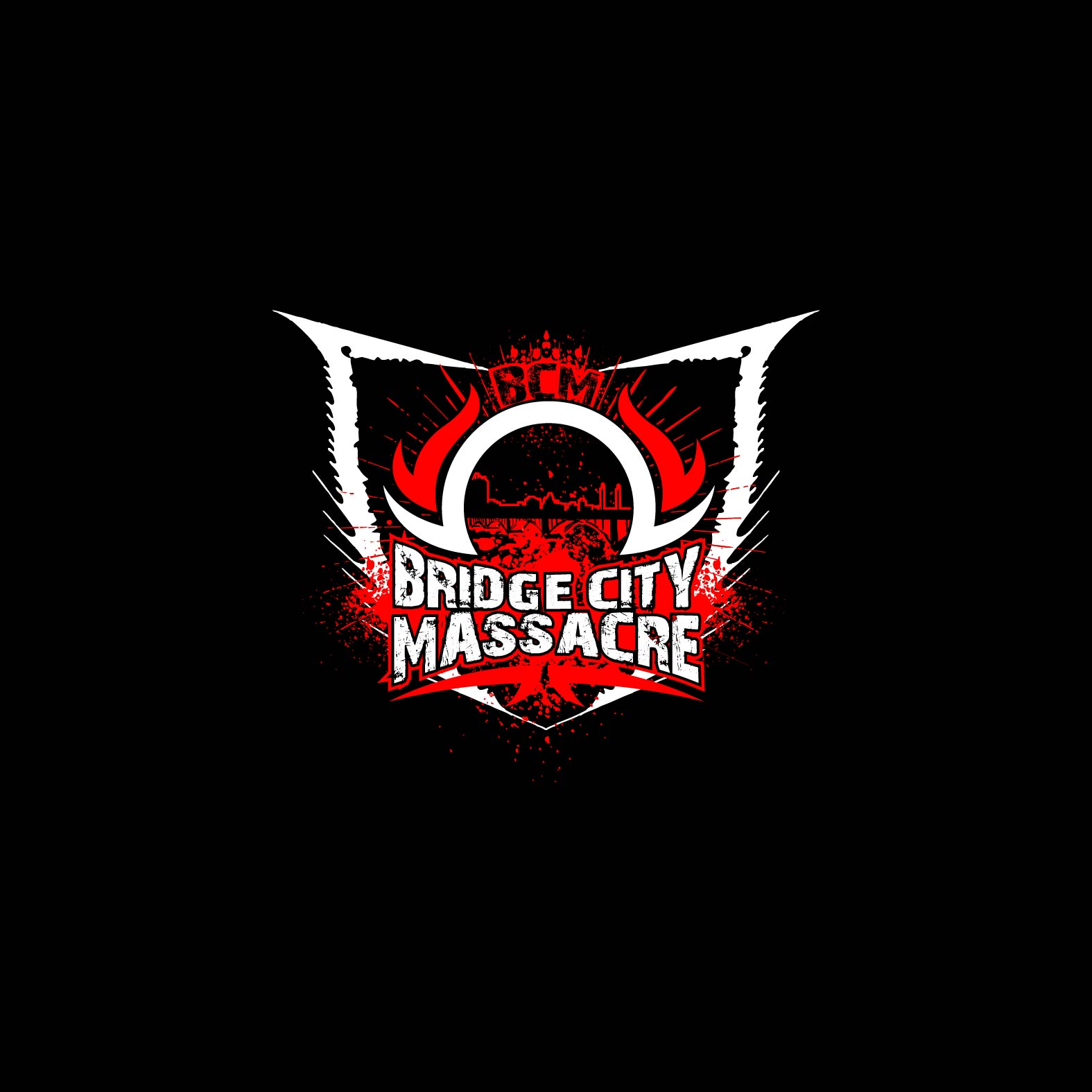 Logo Design by lagalag - Entry No. 46 in the Logo Design Contest New Logo Design for Bridge City Massacre.