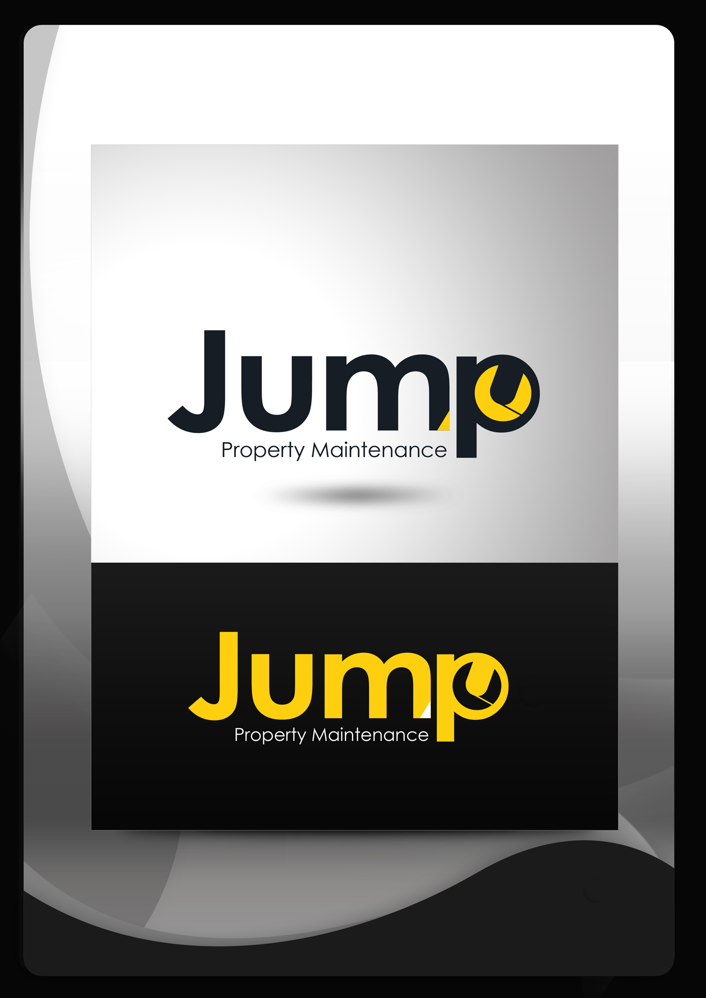 Logo Design by Mark Anthony Moreto Jordan - Entry No. 74 in the Logo Design Contest Creative Logo Design for Jump Property Maintenance.