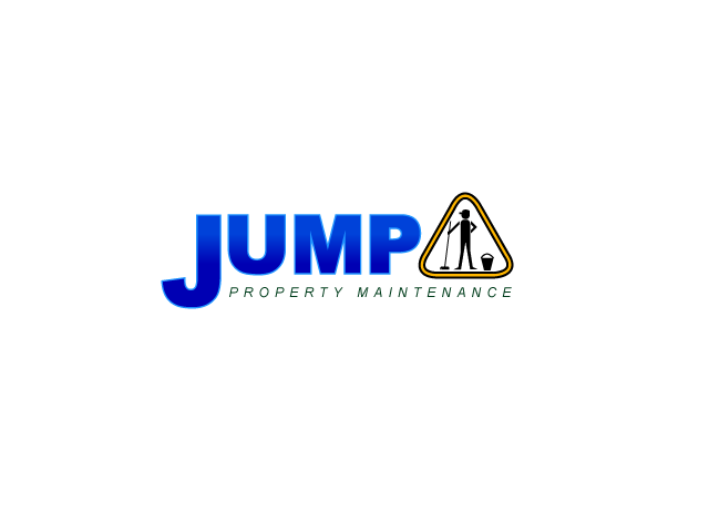 Logo Design by Private User - Entry No. 76 in the Logo Design Contest Creative Logo Design for Jump Property Maintenance.
