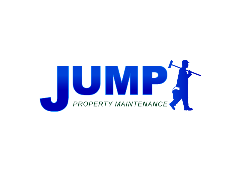 Logo Design by Private User - Entry No. 80 in the Logo Design Contest Creative Logo Design for Jump Property Maintenance.